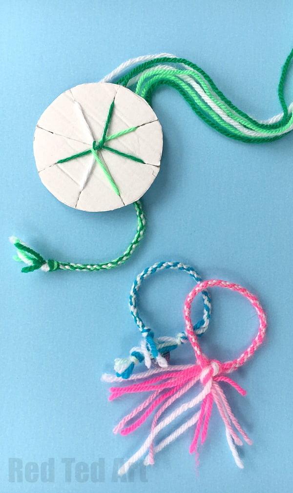 Loom Friendship bracelet pattern
