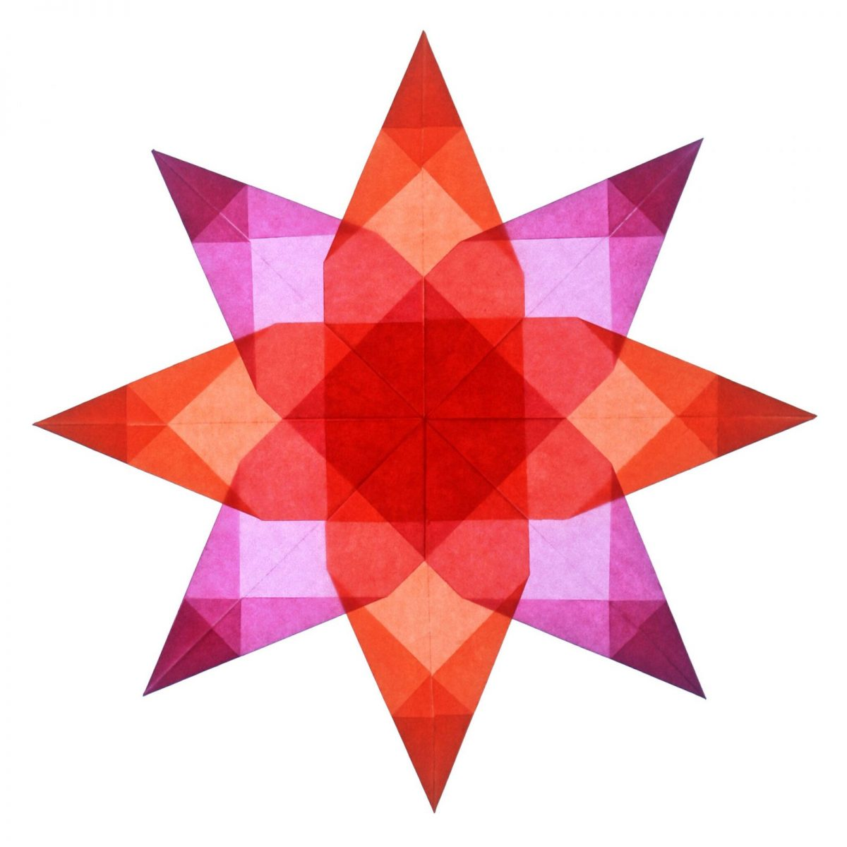 Cosmic Candy Star pink/orange