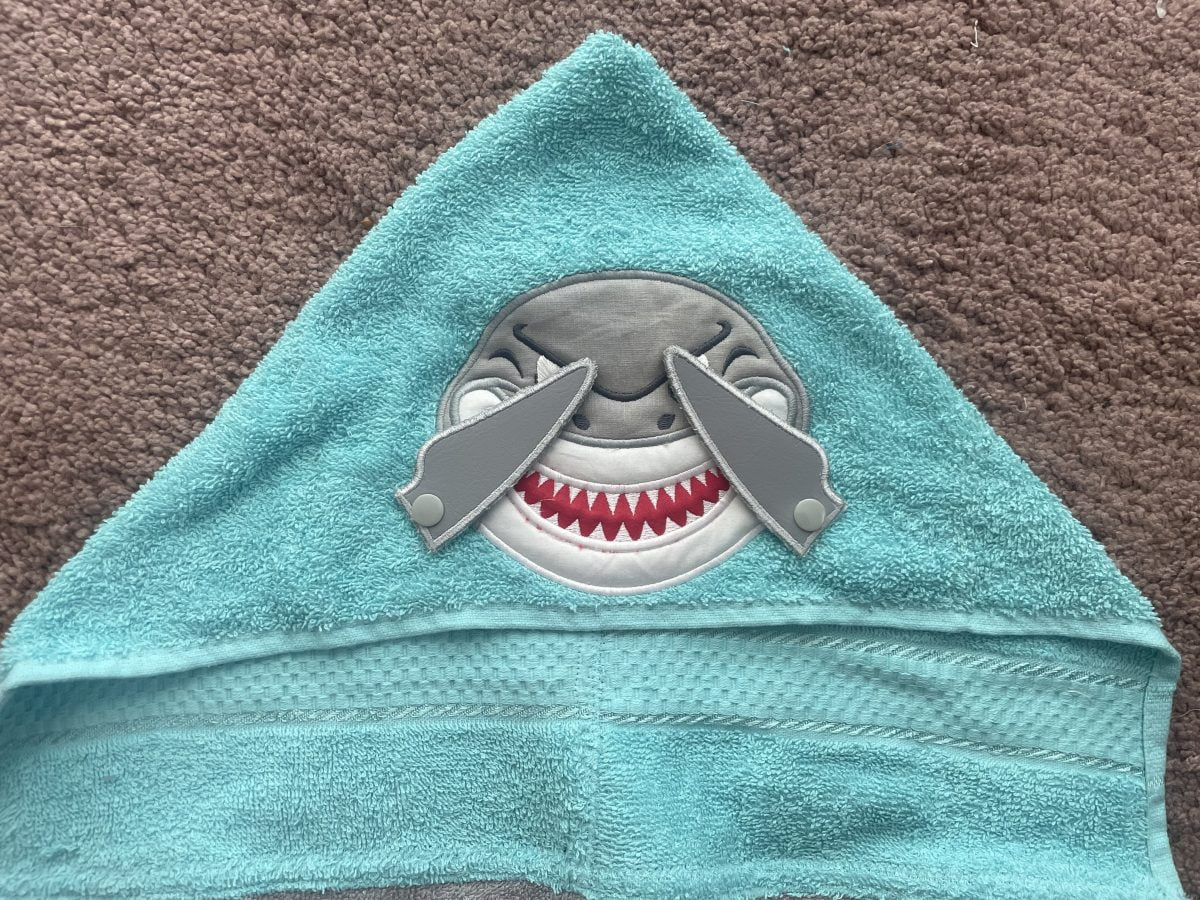 Shark with fins- nbspThe Crafty Me